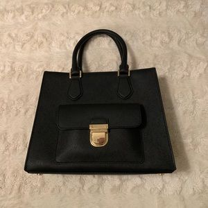 Michael Kors EUC Black Satchel